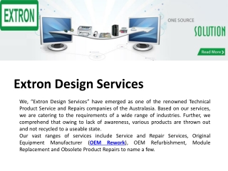 Extron Design Services
