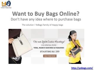 Buy Bags Online