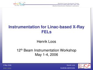 Instrumentation for Linac-based X-Ray FELs
