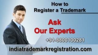 Why To Trademark Registration In India ?