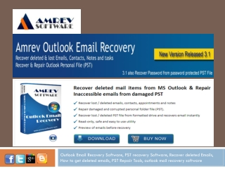 Outlook Email Recover free PST repair software