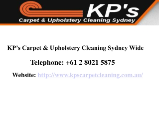 KP's - Carpet Cleaning Services Sydney