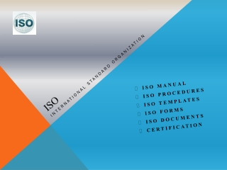 Know About The ISO Documents and Templates