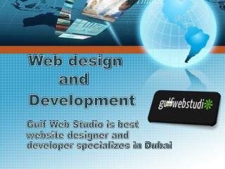 GulfWebStudio is the professional Web Design and Development