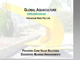 Universal Marine Global Aquaculture