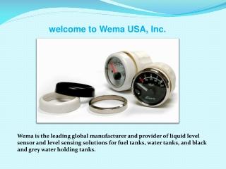 welcome to Wema USA, Inc.