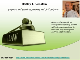 Hartley Bernstein Attorney