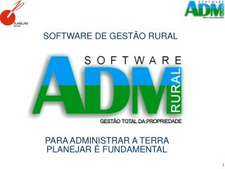 SOFTWARE DE GEST O RURAL