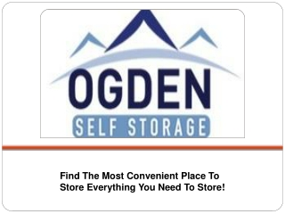 Find The Most Convenient Place To Store Everything You Need