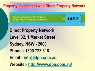 Property Investment with Direct Property Network