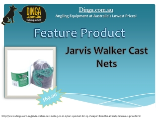 Jarvis Walker Cast Nets 9' or 10' Nylon 1
