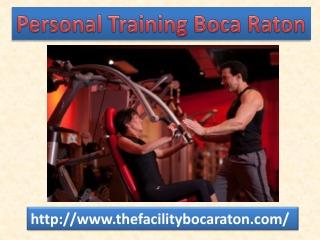 Personal Training Boca Raton