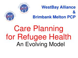 Care Planning  for Refugee Health  An Evolving Model
