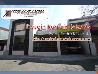 Desain Rumah Jakarta 08122938936