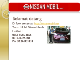 mobil nissan march by nissanmobil.net