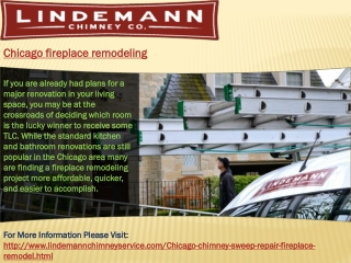 Chicago fireplace remodeling