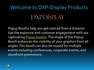 How PopUp Booths helps to make a successful event