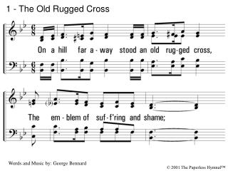 1 - The Old Rugged Cross