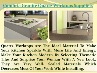 Granite worktops in Derby