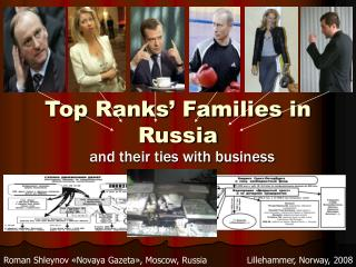 Top Ranks' Families in Russia