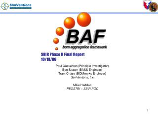 sbir phase ii final report