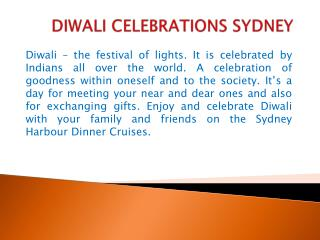 diwali celebrations sydney
