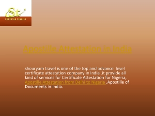 appostile attestation in delhi