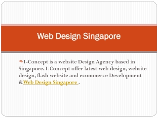 Quality Web Design and eCommerce Development in Singapore