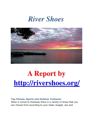 River Shoes