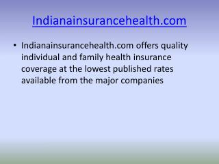 lowest indiana health insurance rates