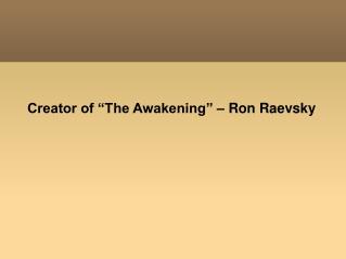 Ron Raevsky