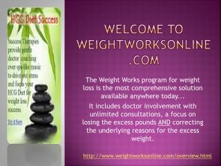 Weight Loss Clinics-weightworksonline