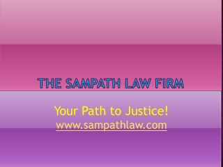 THE SAMPATH LAW FIRM