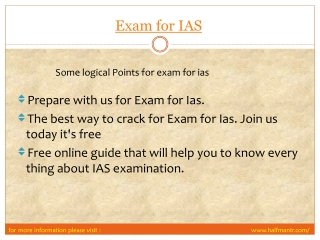 step of exam for ias