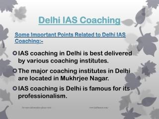 Most Famous Delhi IAS Coaching