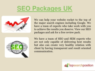 Cheap Seo Services UK