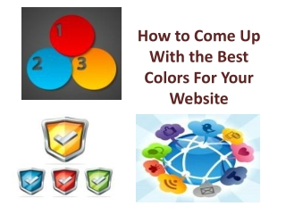 How to Come Up With the Best Colors For Your Website