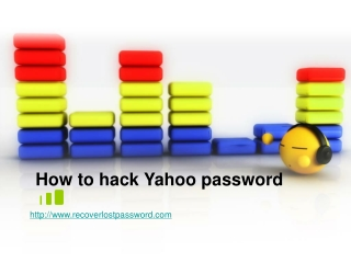 How to Hack Yahoo Password When Lost it
