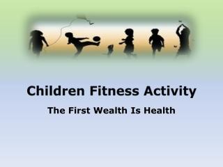 Children Fitness Activities in Melbourne