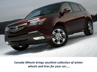 Get Branded Winter Tires and Wheel Rims in Canada