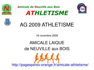 AG 2009 ATHLETISME 16 novembre 2009