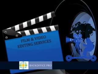 Film and Video Editing Services