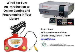 Wired For Fun: An Introduction to Online Gaming and Programming in Your Library