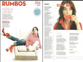 Natalia Oreiro - Revista Rumbos