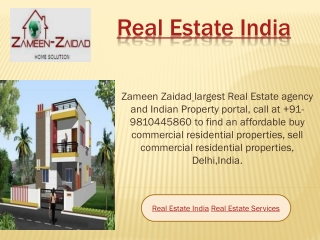 Real Estate India