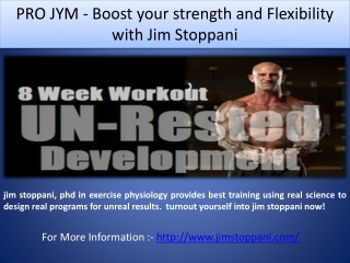 PRO JYM - Boost your strength and Flexibility