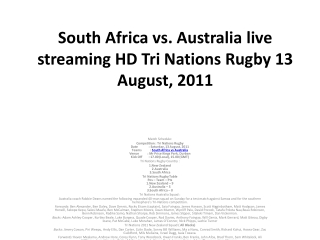 south africa vs. australia live streaming hd tri nations rug
