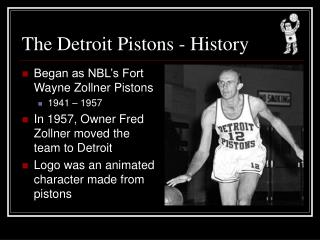 The Detroit Pistons - History