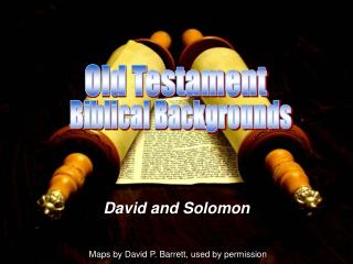 David and Solomon