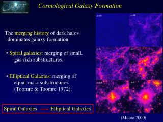The  merging history  of dark halos dominates galaxy formation .